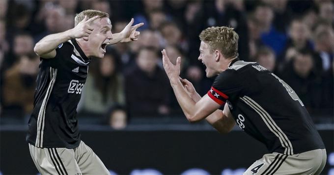 Van de Beek rất giống với cựu danh thủ bóng đá người Hà Lan Bergkamp