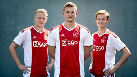 8 ngôi sao mang về hơn 300 triệu bảng cho Ajax kể từ năm 2017