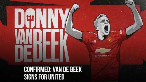 CHÍNH THỨC: M.U chiêu mộ thành công Van de Beek