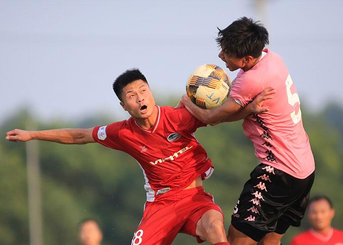 Ở trận đầu tiên kể từ khi trở về Việt Nam, Văn Hậu đã chơi tốt