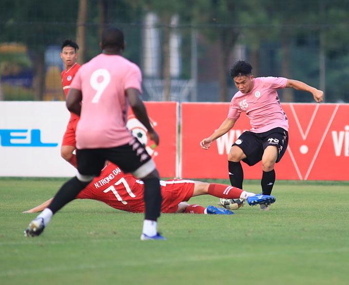 Hà Nội FC thắng chung cuộc 3-1 trước Viettel. Họ sẽ có trận tái đấu trên sân Hàng Đẫy vào ngày 5/9