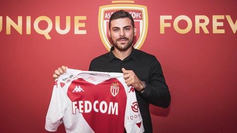 Monaco chính thức có Kevin Volland