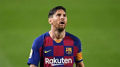 Messi 90% ở lại Barca