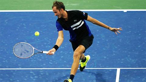 Medvedev chưa thua một set nào ở US Open 2020