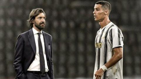 Ronaldo có thể phải thay đổi vai trò tại Juventus dưới triều đại của Pirlo
