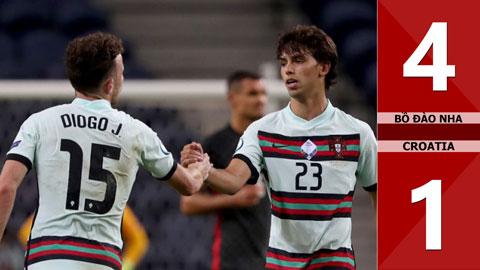 Bồ Đào Nha 4-1 Croatia (Bảng A Nation League 2020/21)