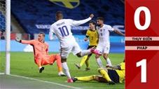 Thụy Điển 0-1 Pháp (Bảng A Nation League 2020/21)