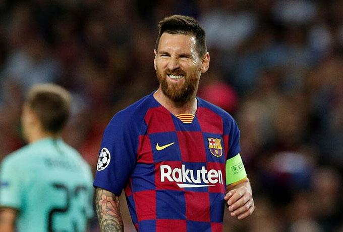 Messi đã bước vào năm cuối hợp đồng với Barca