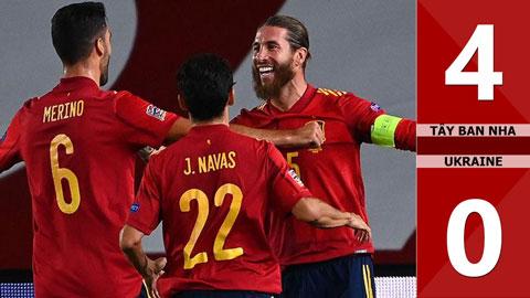 Tây Ban Nha 4-0 Ukraine (Bảng A4 Nations League 2020)