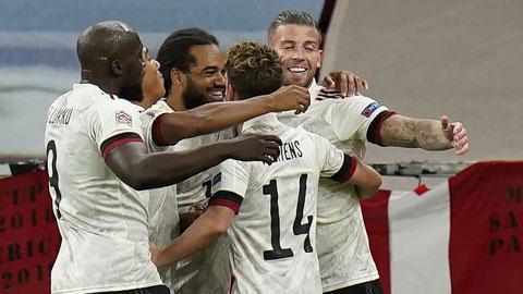 Bỉ thắng thuyết phục trên sân Đan Mạch: Xứng danh đội bóng số 1 thế giới