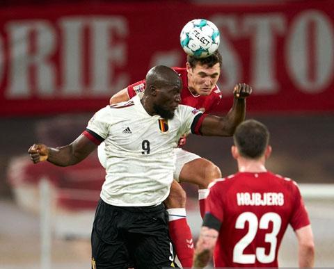 Bỉ hoàn toàn áp đảo ngay trên sân Đan Mạch trong trận đấu rạng sáng qua