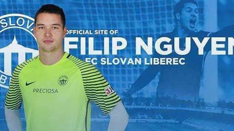Filip Nguyễn chọn CH Séc, từ chối khoác áo ĐT Việt Nam