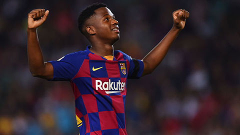 Ansu Fati có điều khoản hợp đồng lạ lùng với Barca