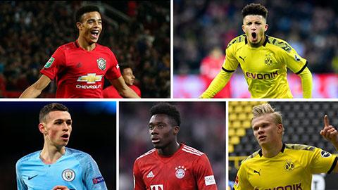 10 ngôi sao U21 xuất sắc nhất thế giới