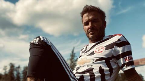 Beckham dẫn dầu dàn mỹ nam trong bộ cánh ngựa vằn của M.U