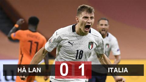 Kết quả Hà Lan 0-1 Italia: Azzurri lên ngôi đầu bảng