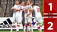 Bosnia 1-2 Ba Lan (Bảng A1 Nations League 2020)