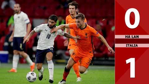 Hà Lan 0-1 Italia (Bảng A1 Nations League 2020)