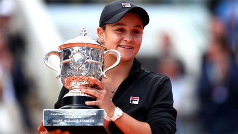 Roland Garros 2020 vắng nhà ĐKVĐ đơn nữ Ashleigh Barty