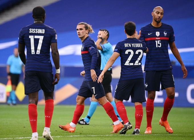 Giroud ấn định chiến thắng 4-2 cho Pháp, qua đó tái hiện kết quả trận chung kiết World Cup 2018