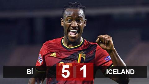 Kết quả Bỉ 5-1 Iceland: Siêu dự bị của Chelsea hóa người hùng, Bỉ đè bẹp Iceland