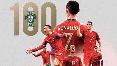 Ronaldo lập 2 cột mốc siêu ấn tượng sau trận thắng Thụy Điển