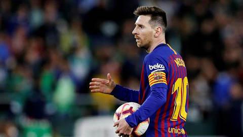 Lộ con số Man City gửi tới Barca để hỏi mua Messi