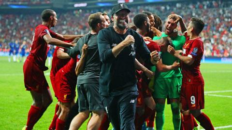 Thầy trò Juergen Klopp sẽ phải nỗ lực rất nhiều trong hành trình bảo vệ chức vô địch Premier League