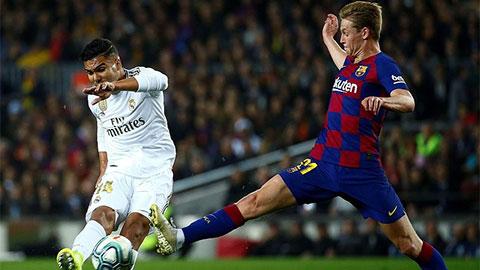 Barcelona vs Real Madrid : Nín thở chờ đại chiến Total Football vs Joga Bonito