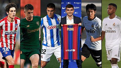 Những tài năng trẻ đáng xem nhất La Liga 2020/21