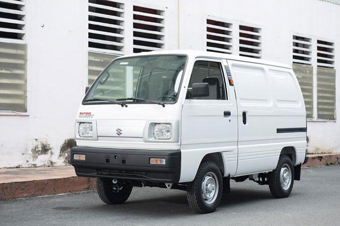 Super Carry Blind Van sở hữu động cơ F10 chính hãng của Suzuki