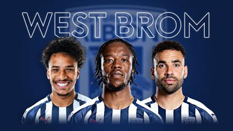 Giới thiệu West Brom mùa 2020/21: Khó tránh suất bét bảng