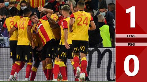 Lens 1-0 PSG (Đá bù vòng 2 Ligue 1 2020/21)