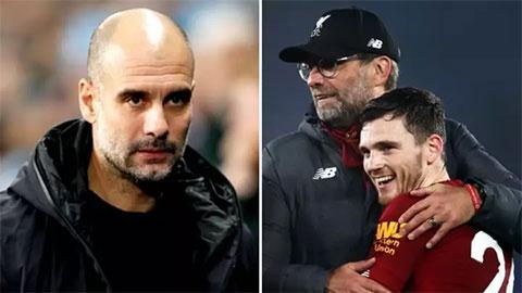 Máy tính dự đoán Man City xếp trên Liverpool, M.U rất ít cơ hôi vô địch Premier League 2020/21