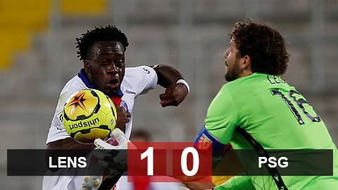 Kết quả Lens 1-0 PSG: Vắng 7 trụ cột, ĐKVĐ PSG gục ngã trên sân tân binh