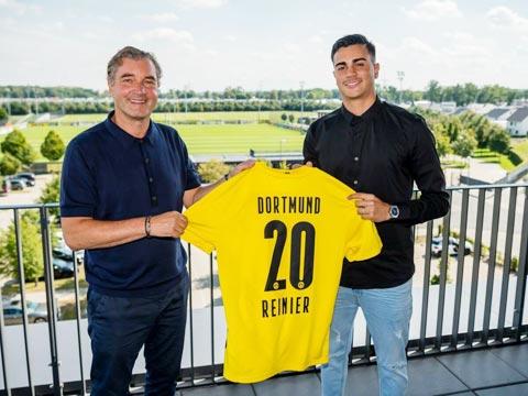 Reinier Jesus được cho là sẽ tỏa sáng trong màu áo Dortmund ở mùa 2020/21