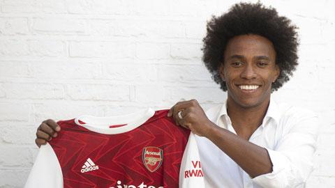 Arsenal: Kỳ vọng kiến tạo từ Willian