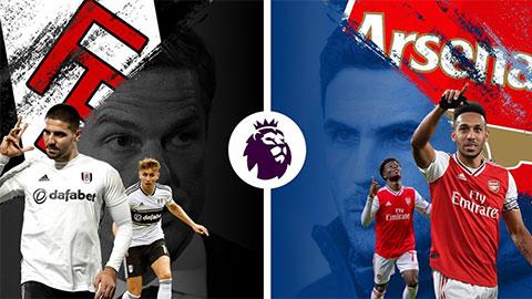Trực tiếp Fulham vs Arsenal, 18h30 ngày 12/9