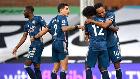 Chấm điểm Fulham 0-3 Arsenal: Willian lên đỉnh
