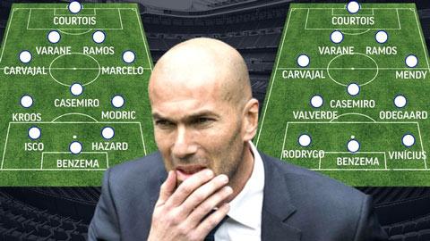Sức trẻ hay kinh nghiệm: Cơn đau đầu của Zidane trước mùa giải mới