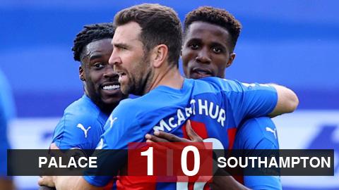 Kết quả Crystal Palace 1-0 Southampton: Zaha ghi bàn giúp Palace ra quân thắng lợi