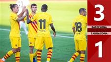 Barcelona 3-1 Gimnastic Tarragona (Giao hữu)