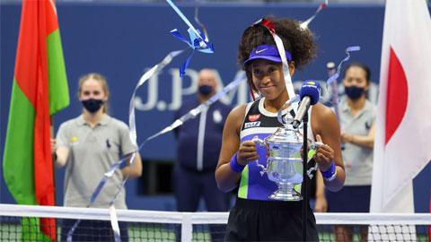 Naomi Osaka vô địch US Open 2020