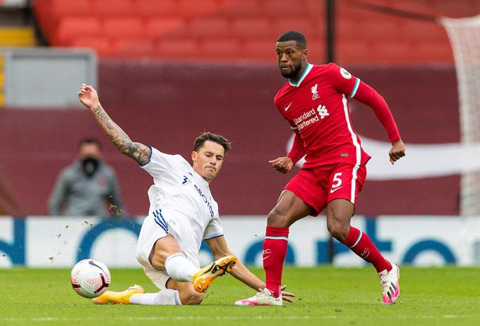 Wijnaldum và nhiều cầu thủ khác của Liverpool đã chơi không tốt