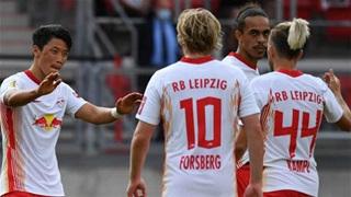 Sao Hàn Quốc tỏa sáng, RB Leipzig đại thắng ở cúp Quốc gia Đức