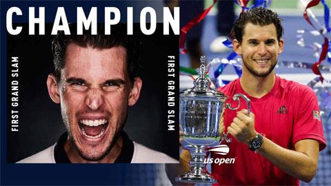 Dominic Thiem vô địch US Open 2020, đoạt Grand Slam đầu tiên