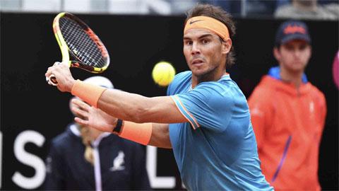 Nadal tái xuất ở Rome, hướng đến kỷ lục 36 Masters
