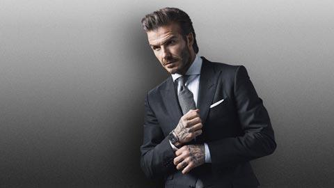 Beckham tâm sự về thú chơi đồng hồ độc đáo
