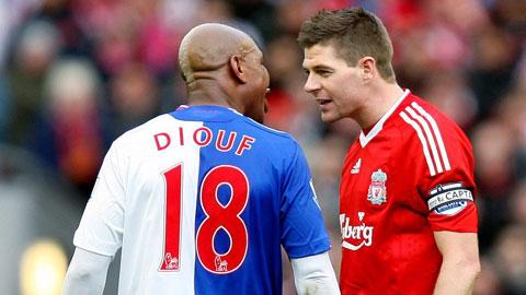 Mối thù dai dẳng giữa Diouf và Gerrard: Không ưa thì dưa cũng có… giòi