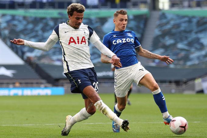 Alli bỏ lỡ cơ hội mười mươi của Tottenham